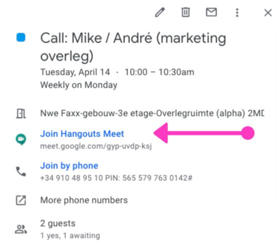 email-agenda-afspraak-videocall-videobellen-google-meet